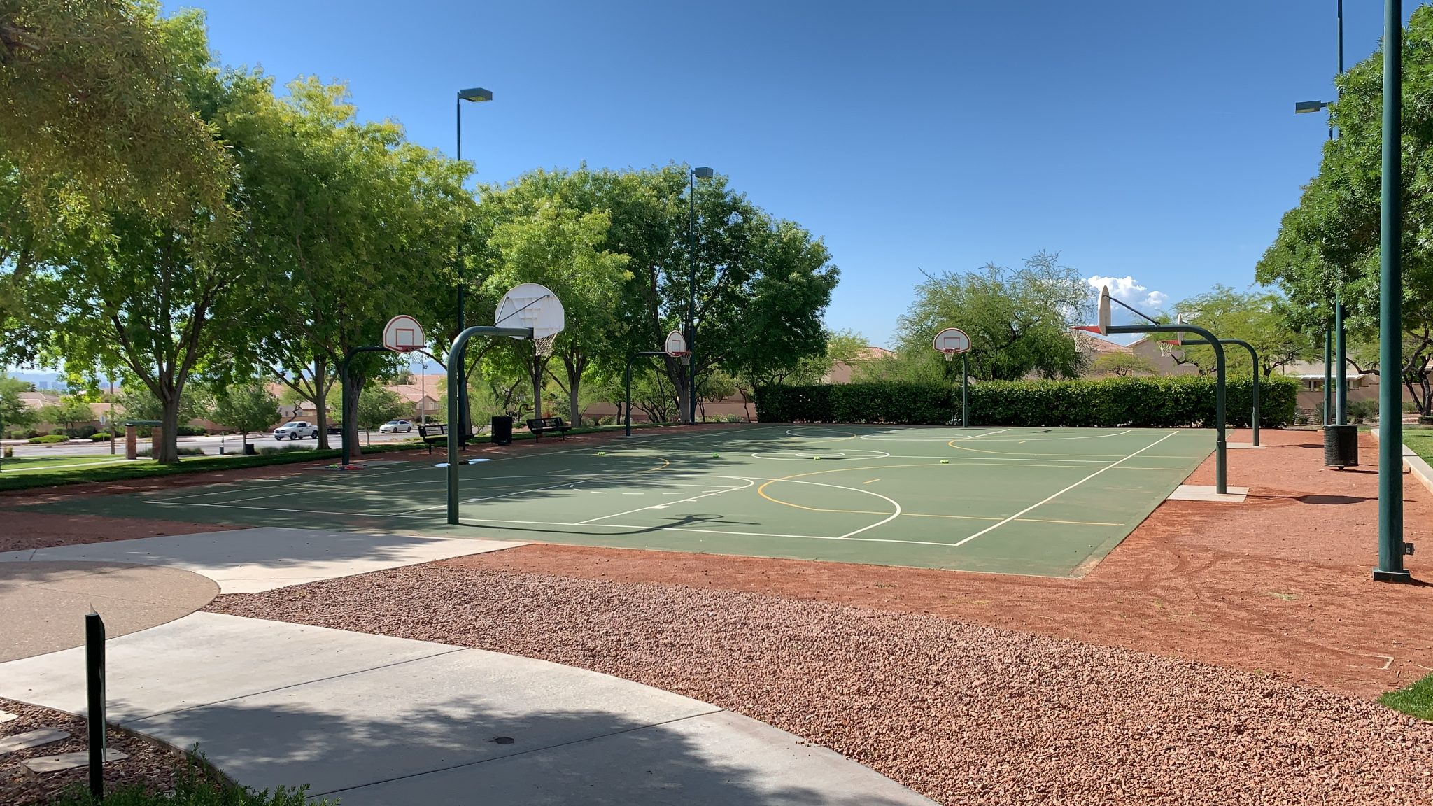 Basketball Court at The Arbors Park