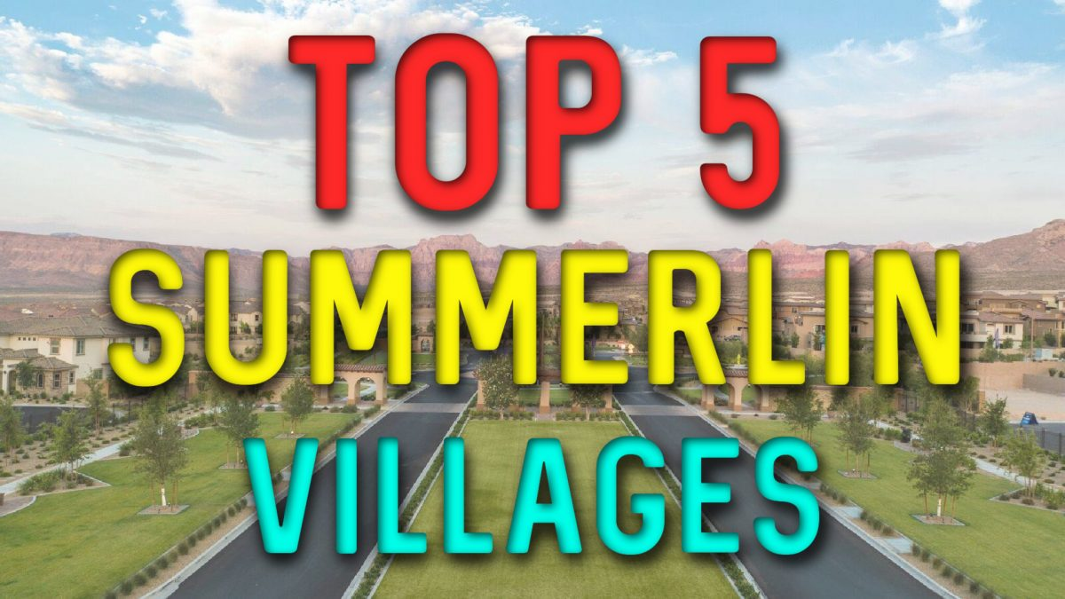 Summerlin Villages